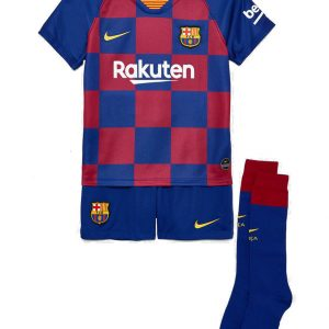 Komplet Nike Kids FC Barcelona Breathe Home AO3052-456 Rozmiar L (116-122cm)