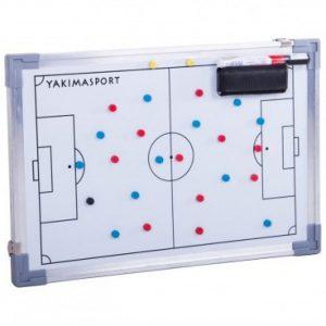 Tablica taktyczna Yakima do piłki nożnej 30cm x 45cm 100155