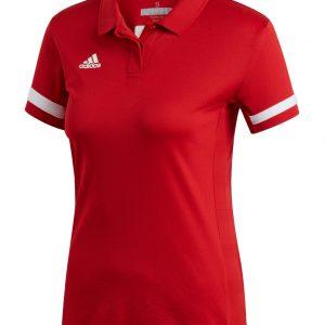 Koszulka Polo damska adidas Team 19 DX7269 Rozmiar L (173cm)