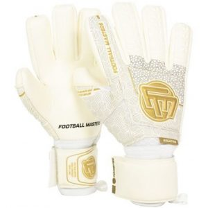 Rękawice Football Masters Voltage White Gold Contact Grip 4 mm NC v 3.0 Rozmiar 8