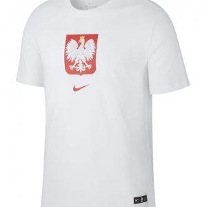 T-shirt Nike Junior Polska CU1212-100 Rozmiar XS (122-128cm)