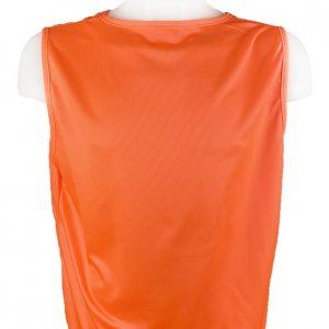 Kamizelka znacznik piłkarski Optim Pomarańczowy Rozmiar M (178cm)