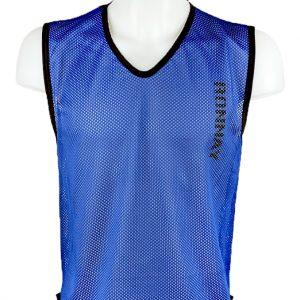 Kamizelka znacznik piłkarski siateczkowy Diparo Niebieski Rozmiar M (178cm)