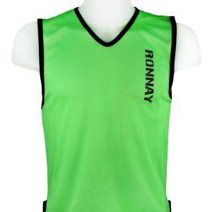 Kamizelka znacznik piłkarski siateczkowy Diparo Zielony Rozmiar L (183cm)