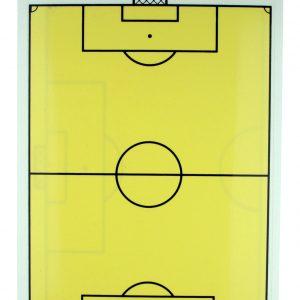 Tablica taktyczna do piłki nożnej dwustronna A4