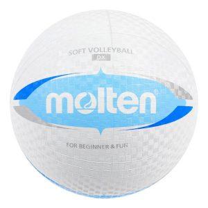 Piłka siatkowa Molten S2V1550-WC gumowa 155g/20cm Rozmiar 5