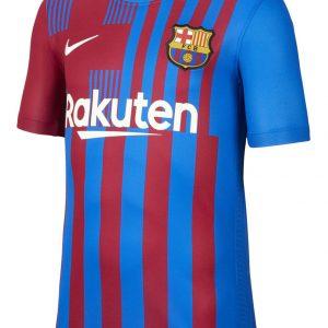Koszulka Nike Junior FC Barcelona 2021/22 Stadium Home CV8222-428 Rozmiar S (128-137cm)