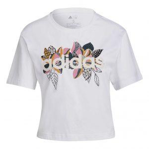 T-shirt damski adidas Farm H14680 Rozmiar XXS