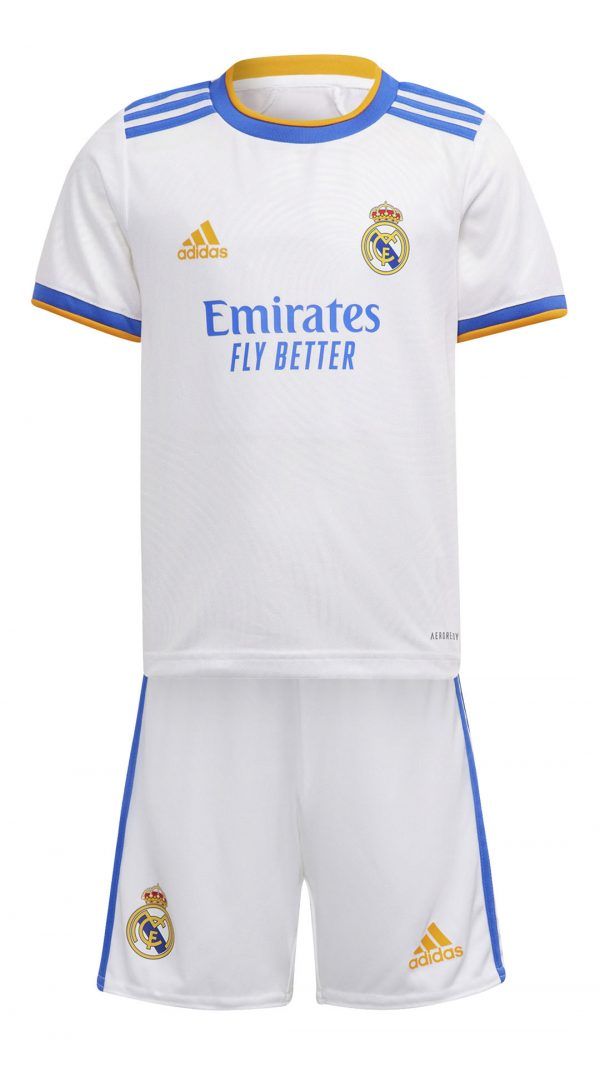 Komplet piłkarski adidas Junior Real Madryt GR4011 Rozmiar 110