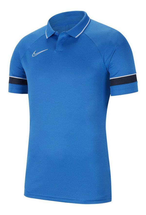 Koszulka polo Nike Junior Academy 21 CW6106-463 Rozmiar XL (158-170cm)