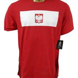 T-shirt Nike Polska 473696-611 Rozmiar XXL (193cm)