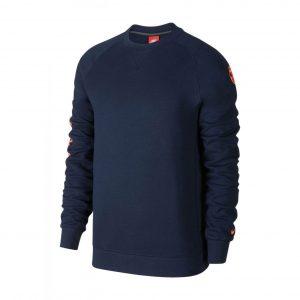 Bluza Nike FC Barcelona Authentic Crew 886760-451 Rozmiar S (173cm)