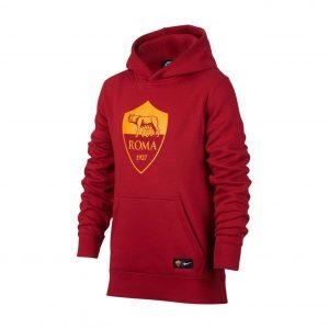Bluza Nike Junior AS Roma Hoodie 886705-613 Rozmiar XS (122-128cm)