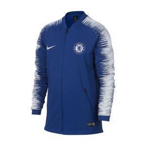 Bluza Nike Junior Chelsea Londyn AA3333-495 Rozmiar XS (122-128cm)