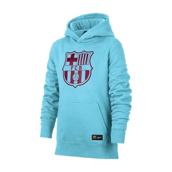 Bluza Nike Junior FC Barcelona Hoodie 886662-485 Rozmiar XS (122-128cm)