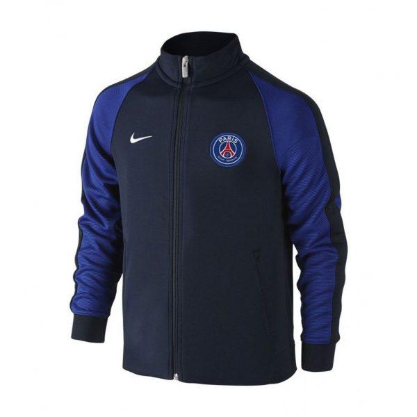 Bluza Nike Junior PSG Authentic N98 810351-475 Rozmiar S (128-137cm)