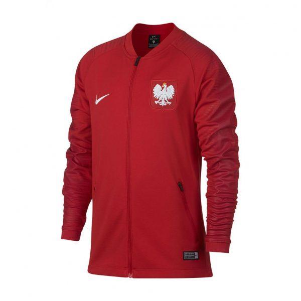 Bluza Nike Junior Polska Anthem 893848-611 Rozmiar S (128-137cm)