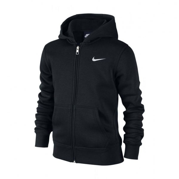 Bluza Nike Junior YA76 Hoody 619069-010 Rozmiar XS (122-128cm)