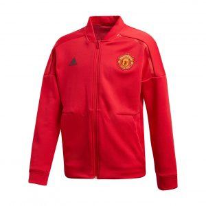 Bluza adidas Junior Manchester United ZNE CW7669 Rozmiar 128