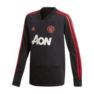 Bluza treningowa adidas Junior Manchester United CW7593 Rozmiar 128