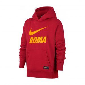 Bluza z kapturem Nike Junior AS Roma 919668-613 Rozmiar S (128-137cm)