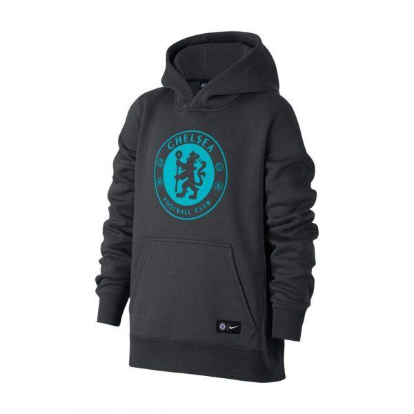 Bluza z kapturem Nike Junior Chelsea Londyn 905502-064 Rozmiar XS (122-128cm)