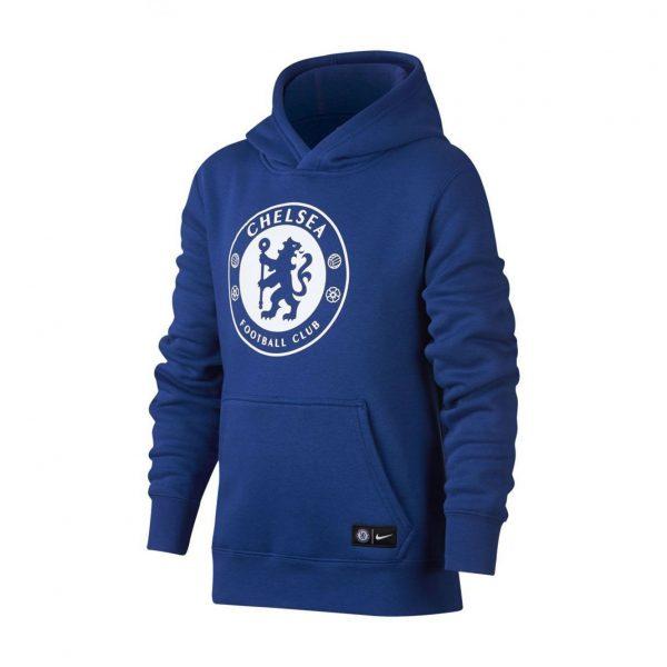 Bluza z kapturem Nike Junior Chelsea Londyn 905502-417 Rozmiar XS (122-128cm)