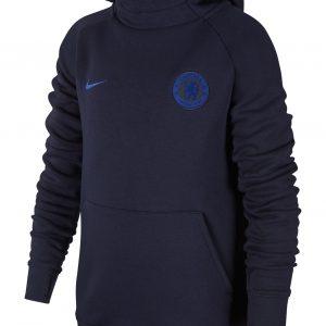 Bluza z kapturem Nike Junior Chelsea Londyn AT4493-451 Rozmiar XS
