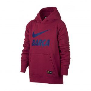 Bluza z kapturem Nike Junior FC Barcelona Nsw 891916-620 Rozmiar XS (122-128cm)
