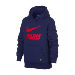 Bluza z kapturem Nike Junior PSG Nsw 891918-421 Rozmiar XS (122-128cm)