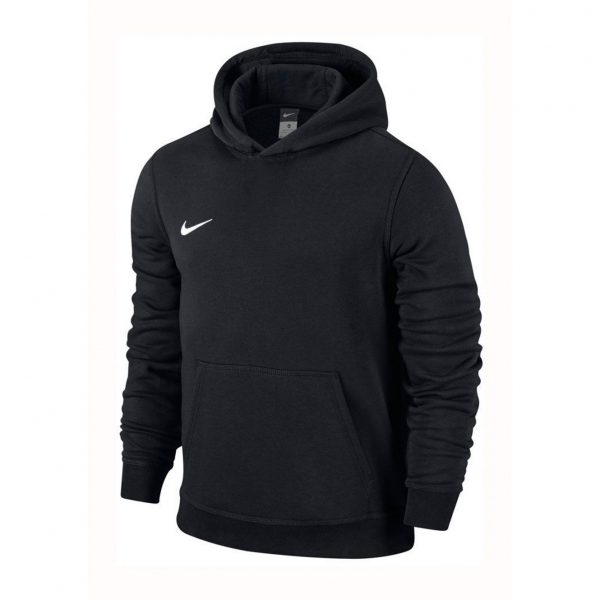 Bluza z kapturem Nike Junior Team Club 658500-010 Rozmiar S (128-137cm)