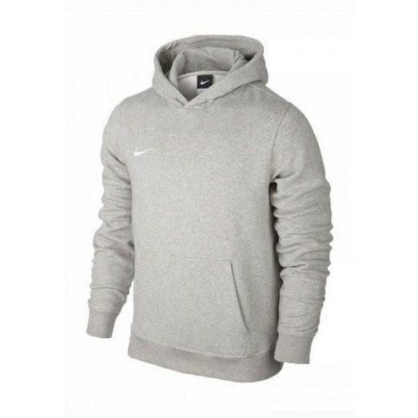 Bluza z kapturem Nike Junior Team Club 658500-050 Rozmiar L (147-158cm)