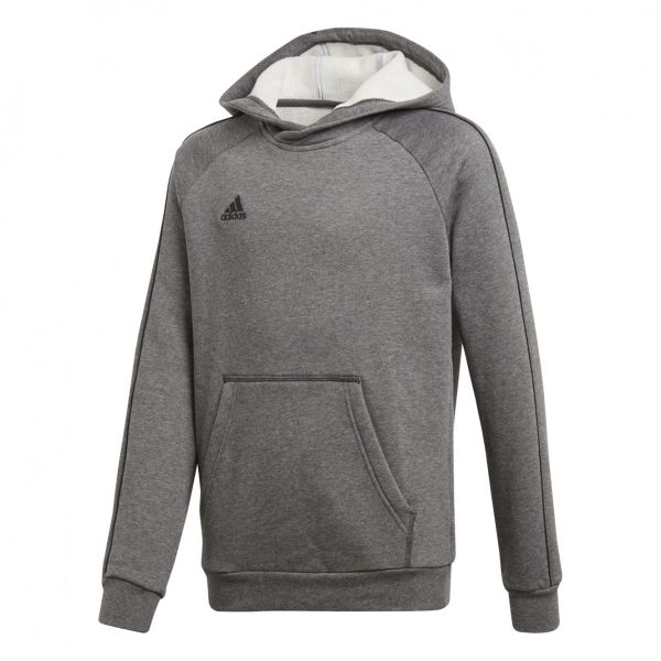 Bluza z kapturem adidas Junior Core 18 CV3429 Rozmiar 140