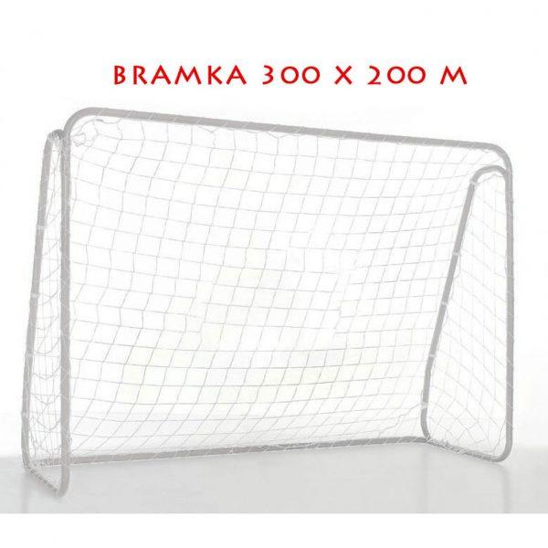 Bramka piłkarska składana aluminium 300x200cm Yakima 100079