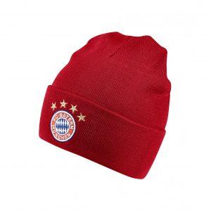 Czapka adidas Bayern Monachium 3S Woolie DI0246 Rozmiar niemowlęcy