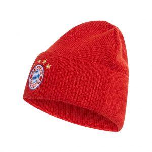 Czapka adidas Bayern Monachium Woolie DY7680 Rozmiar dziecięcy