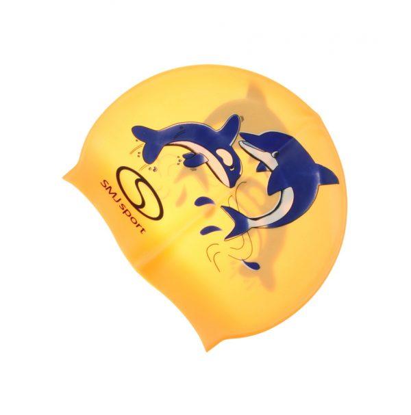 Czepek SMJ sylikonowy delfin