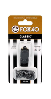 Gwizdek Fox Macarthur Classic ze sznurkiem