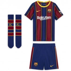 Komplet Nike Junior FC Barcelona 2020/21 Home CD4590-456 Rozmiar M (110-116cm)