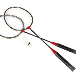 Komplet do badmintona Spokey 83371 (2xRakieta+Pokrowiec+Lotka)