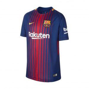 Koszulka Nike Junior FC Barcelona Home Stadium 847387-456 Rozmiar XS (122-128cm)