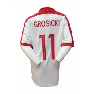 Koszulka Nike Junior Grosicki 725974-101 Rozmiar L (147-158cm)