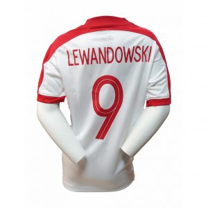 Koszulka Nike Junior Lewandowski 725974-101 Rozmiar XL (158-170cm)