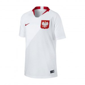 Koszulka Nike Junior Polska Home Stadium 894015-100 Rozmiar XS (122-128cm)
