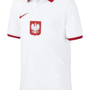 Koszulka Nike Junior Polska Stadium Home CD1050-100 Rozmiar S (128-137cm)
