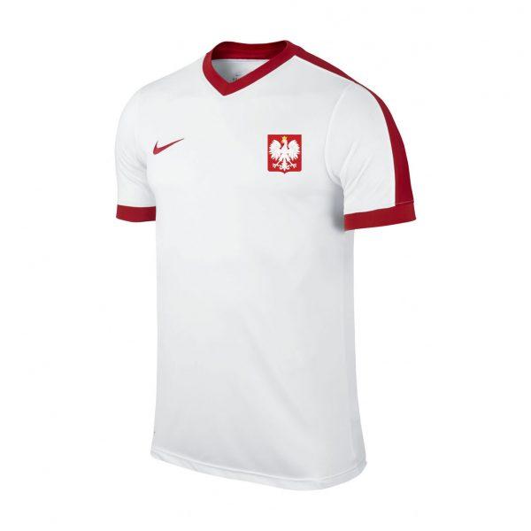 Koszulka Nike Junior Polska Training Top 725974-101 Rozmiar L (147-158cm)