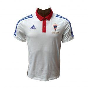 Koszulka Polo adidas Górnik Zabrze Biała CE7423 Rozmiar S (173cm)