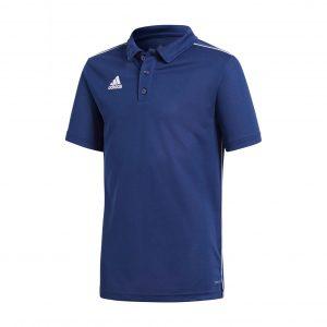 Koszulka Polo adidas Junior Core 18 CV3680 Rozmiar 116