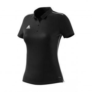 Koszulka Polo damska adidas Core 18 CE9039 Rozmiar M (168cm)