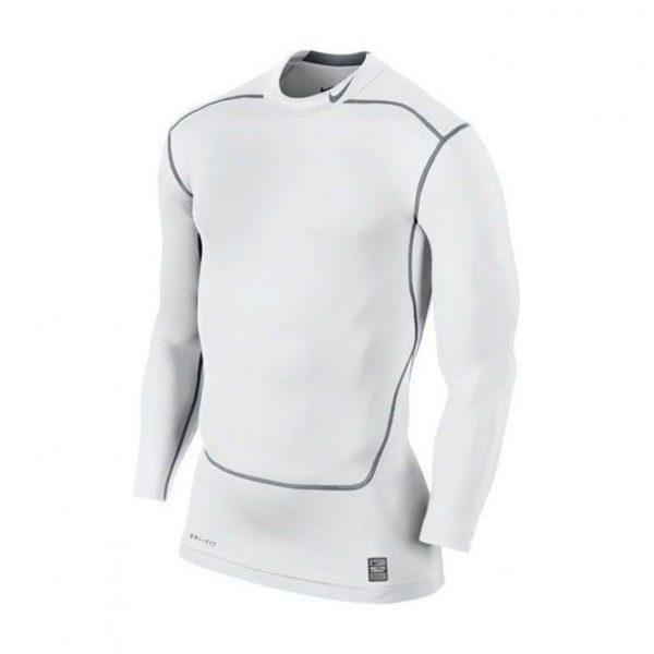 Koszulka z długim rękawem Nike Core Compression Mock 2.0 449795-100 Rozmiar L (183cm)